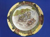 Royal Doulton Early Motoring 'A Nerve Tonic' Rack Plate D2406 c1906